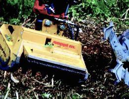 목재 수확 후 정리작업
